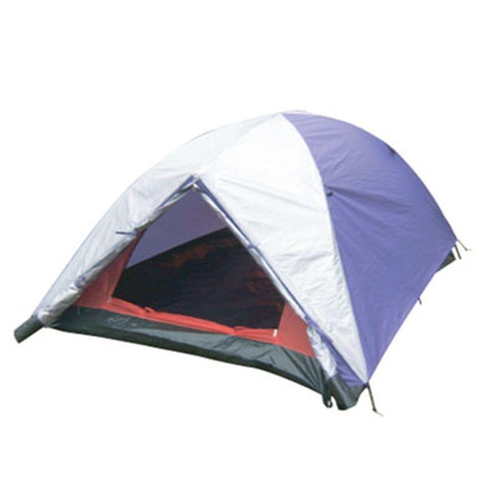 Палатка 2-мест., 1-сл., 210x150x100см, (190 Т PU 800мм, тр. фб 7,9мм, дн.PE), LBT-004