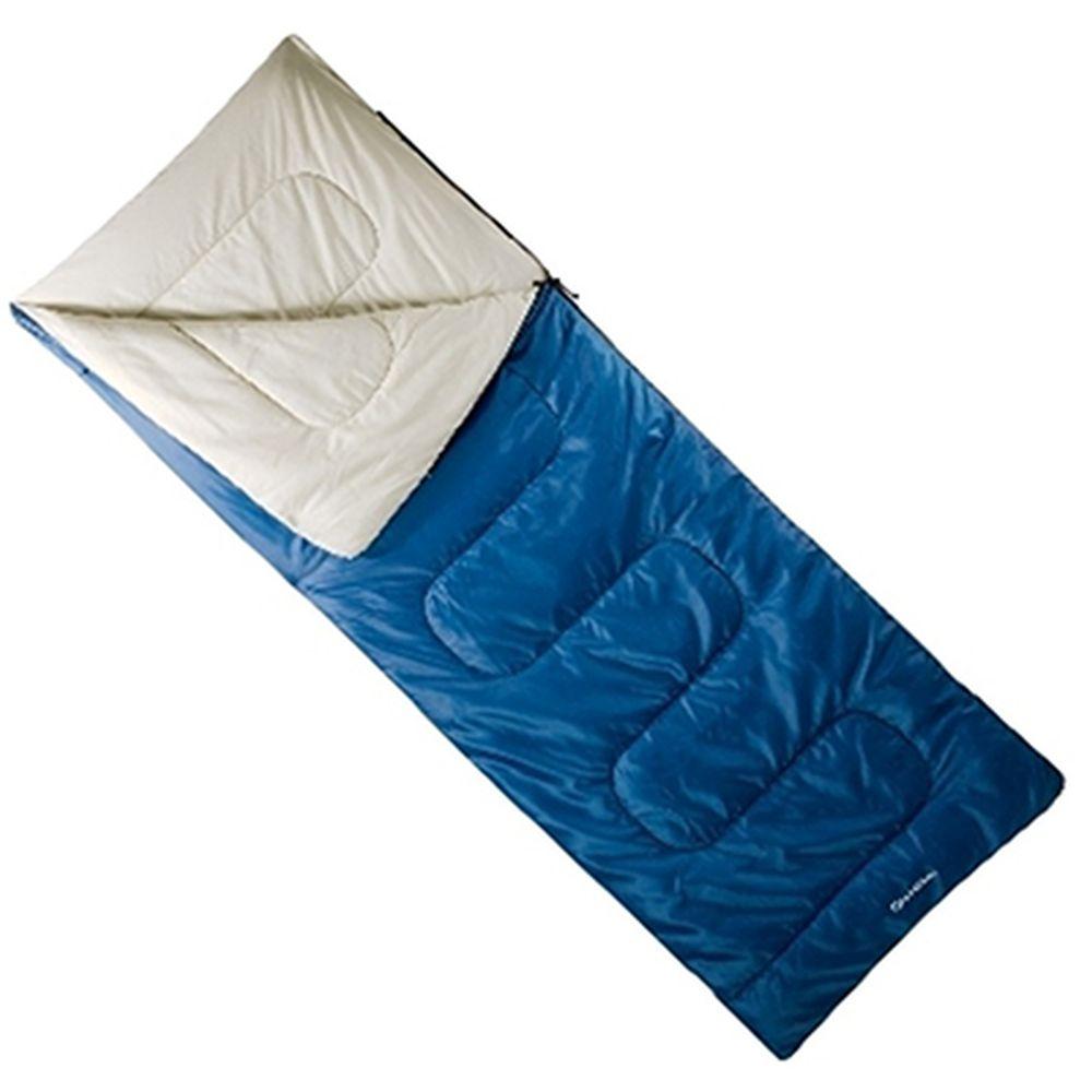 Спальник-одеяло 190x75см (190Т w/r pol, х/ф 300г/м), голубой, LBS-205