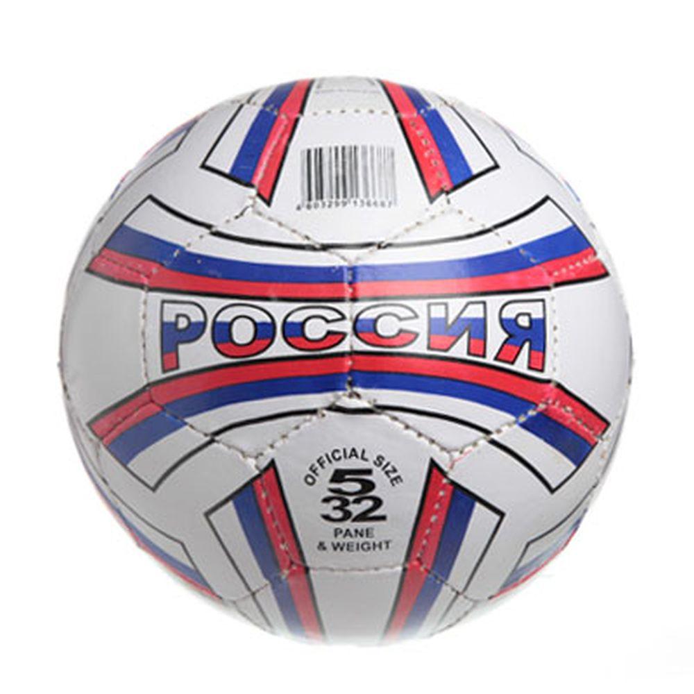 """Мяч футбольный 5"""" Russia flag, ПВХ, 2сл. 270гр, 2043/A"""
