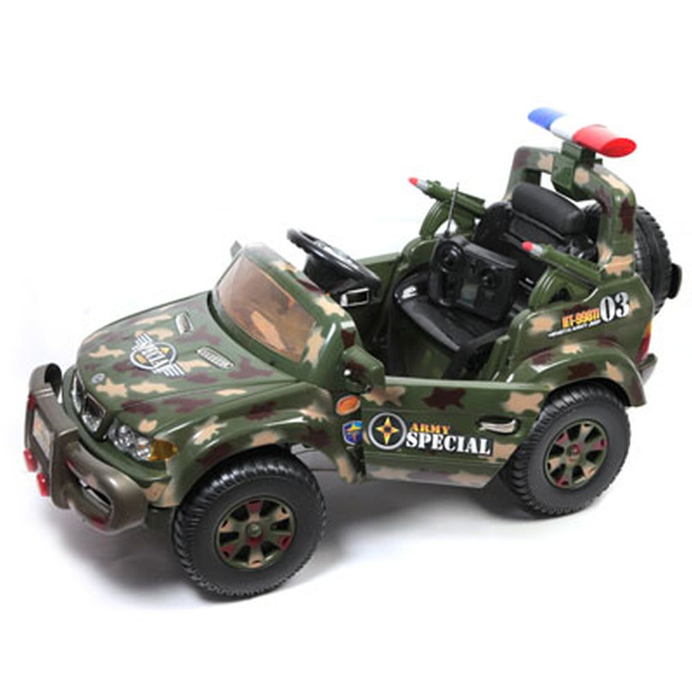 Автомобиль на аккумуляторе с р/у Джип A250-H01036