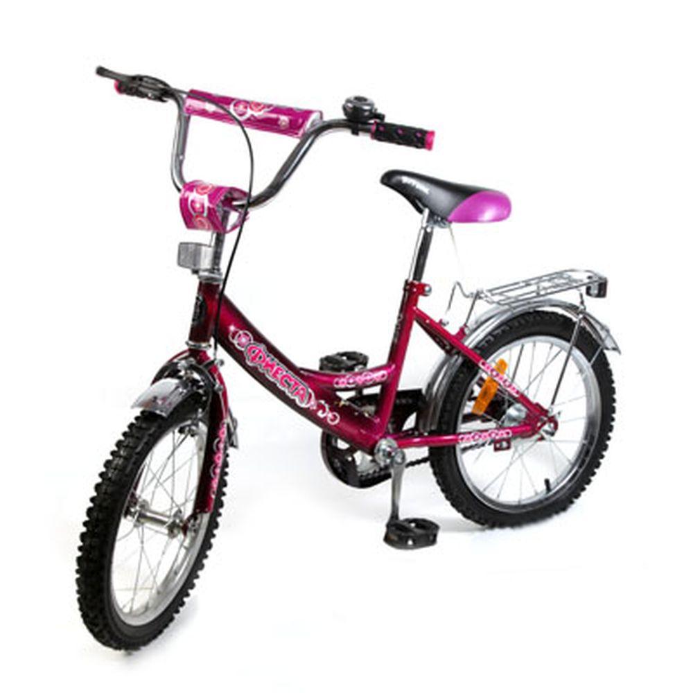 "Велосипед 16"" Maxxpro V2-16, комб. тормоз, сиреневый"