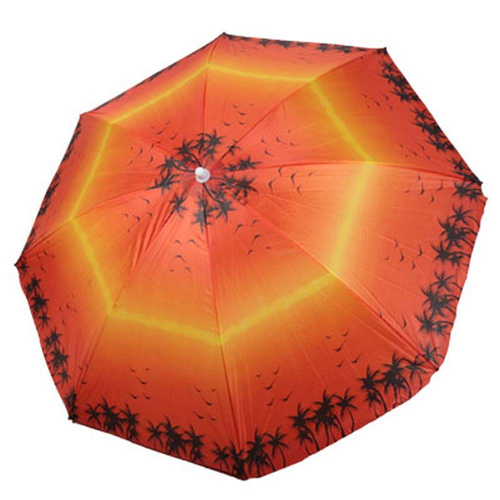 Зонт пляжный 180см (матер. лавсан) HY-1004 4 цв., с ножкой