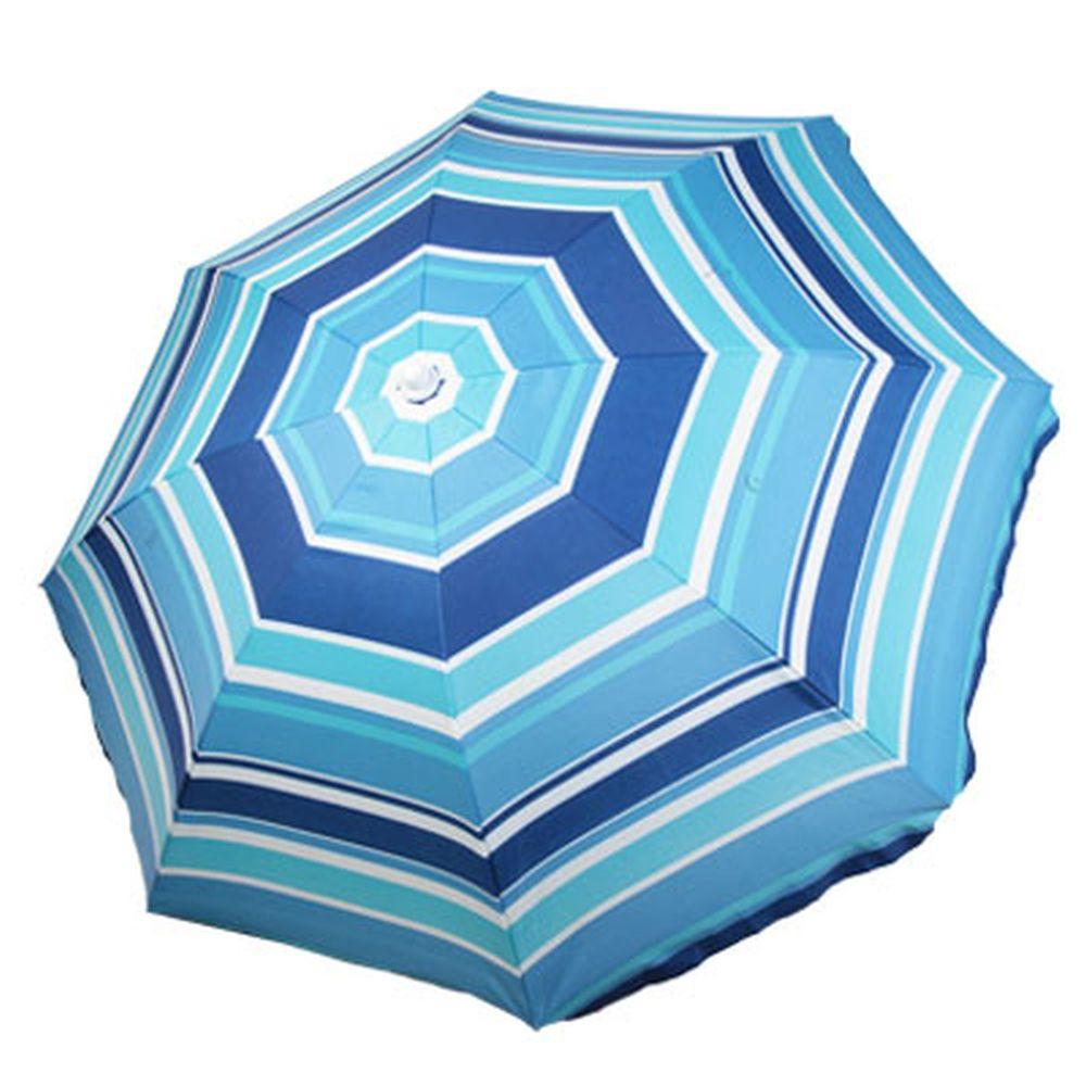 Зонт пляжный 190см (матер. Oxford) HY-1048 4 цв., с ножкой