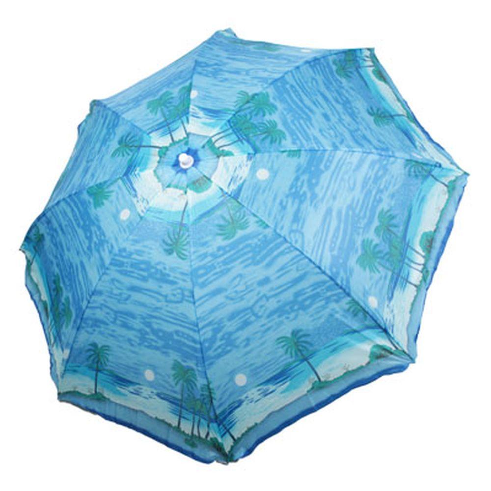 Зонт пляжный 190см (матер. лавсан) HY-1012 4 цв., с ножкой