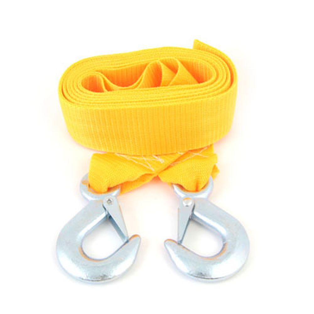 СИГМА Трос-ремень буксировочный с крюками 3,5т в пакете