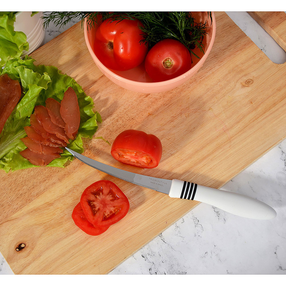 "Tramontina Cor&Cor Нож для томатов 5"" 23462/285 (цена за 2 шт.)"