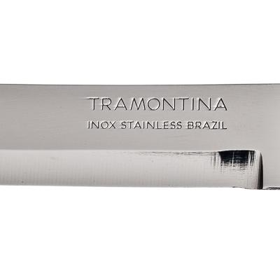 Нож для овощей 8см, черная ручка, Tramontina Athus, 23080/003