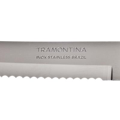 Нож для мяса 12.7см, черная ручка, Tramontina Athus, 23081/005