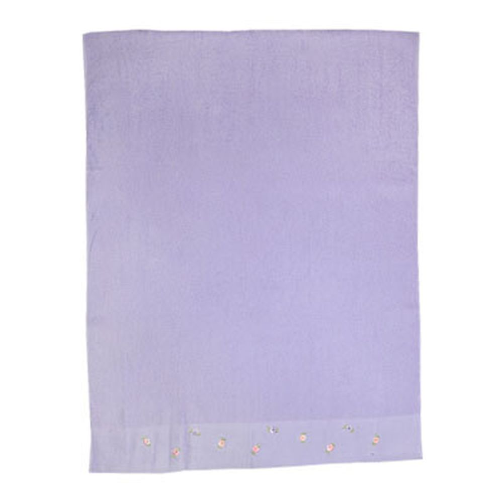 VETTA Полотенце банное с вышивкой 70x130см, Сирень