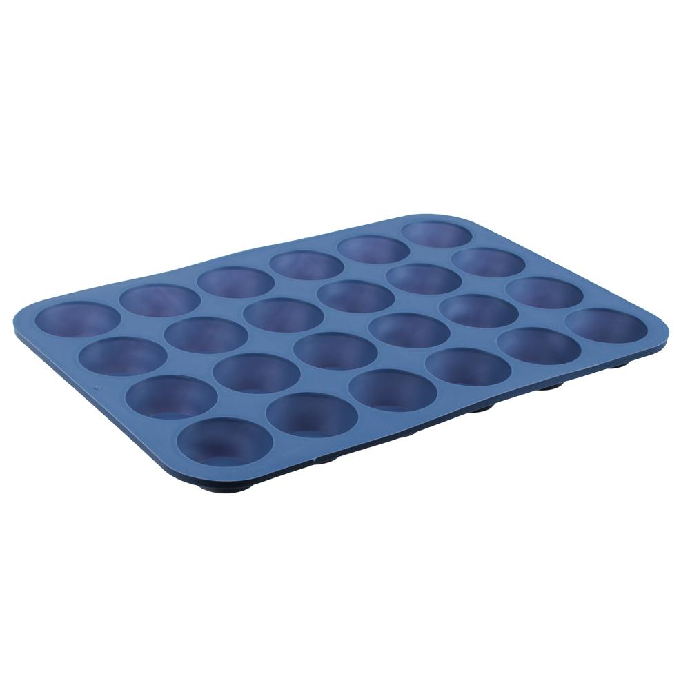 Форма для выпечки булочек VETTA, 36x24x2,2 см, силикон