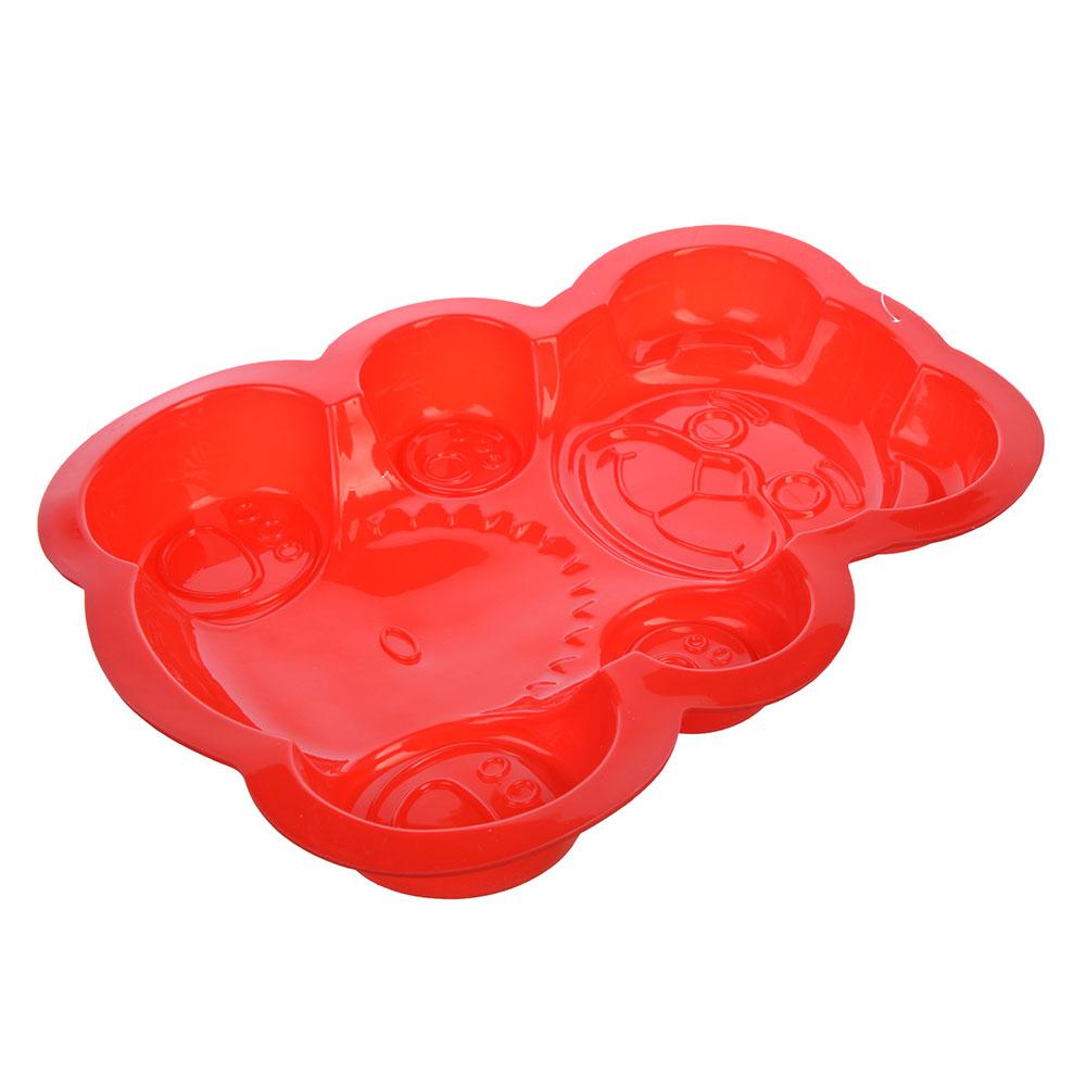 Форма для выпечки VETTA Медвежонок, 30х23х3 см, силикон