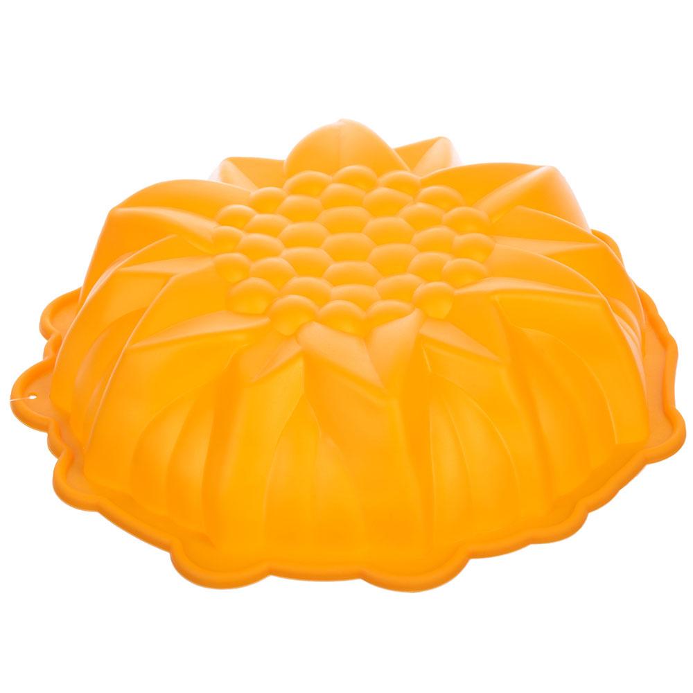 Форма для выпечки VETTA Снежинка, 23х5,5 см, силикон
