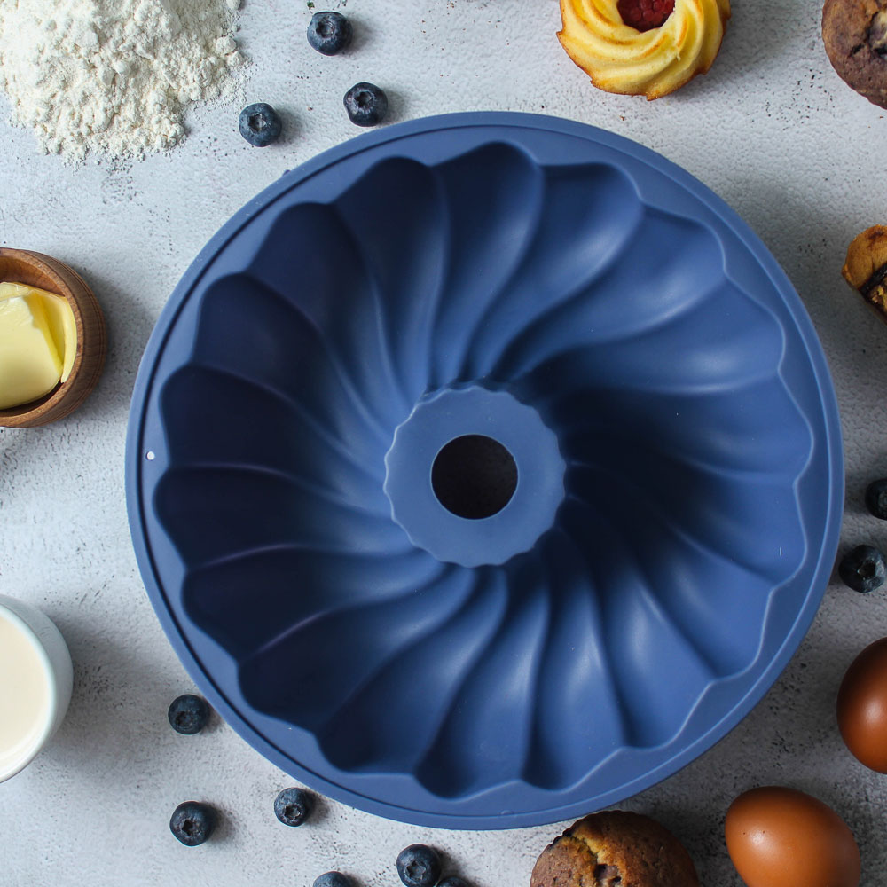 Форма для выпечки VETTA Каравай, 25.4x6 см, силикон