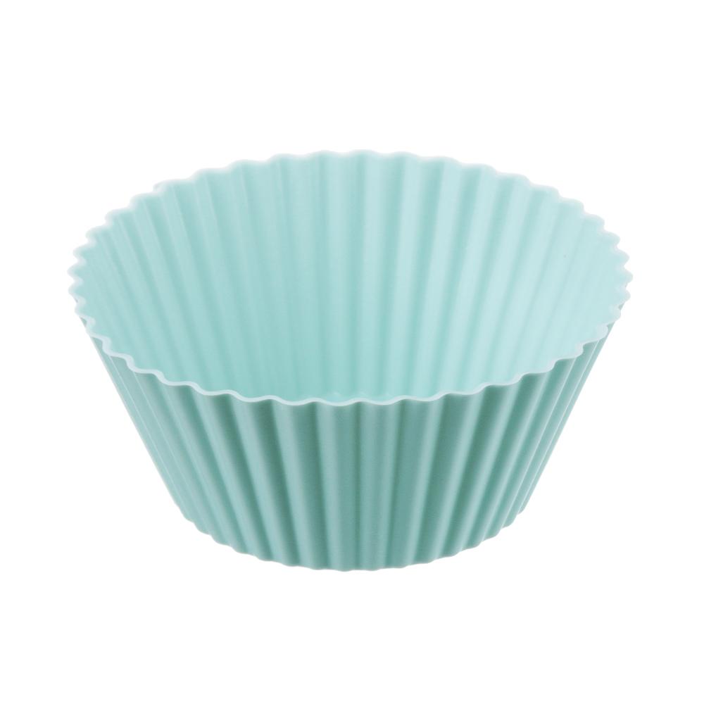 Набор форм для выпечки VETTA Кекс, 16 шт, 6.5x3,3 см, силикон