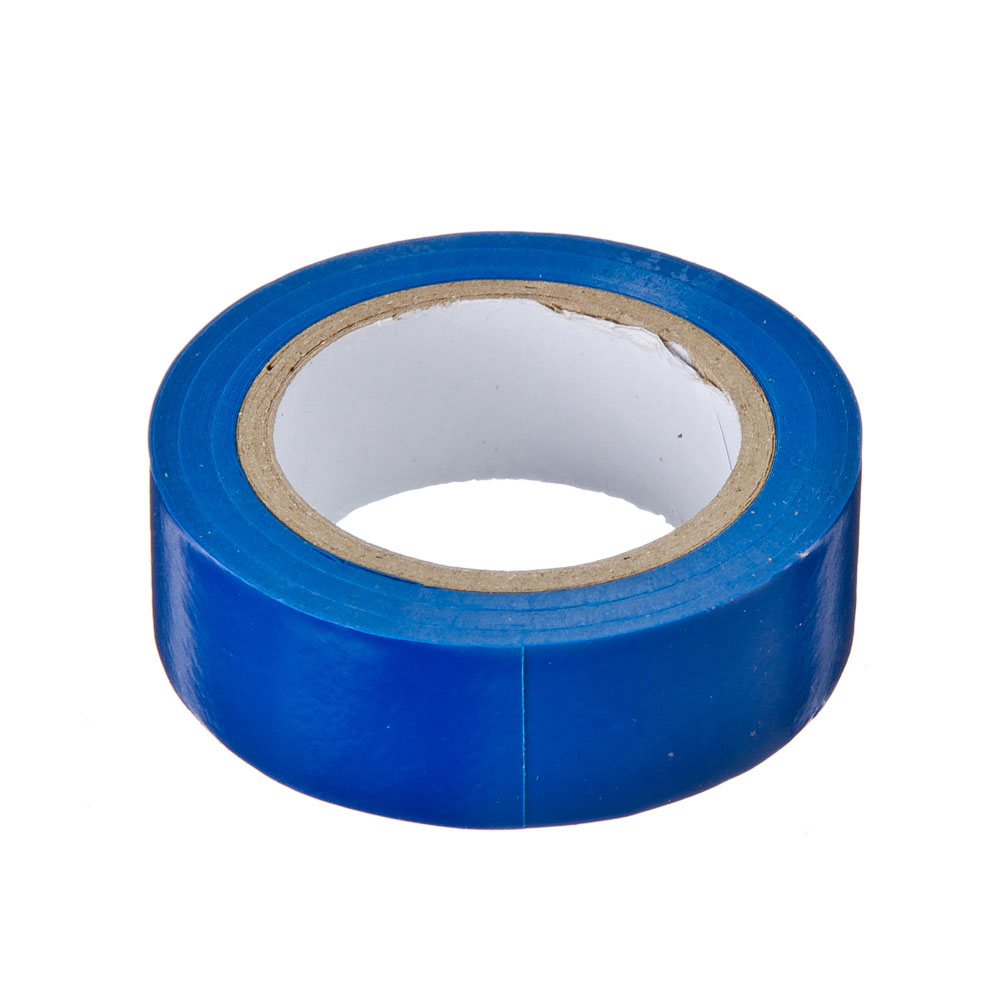 Изолента 19мм-9м синяя