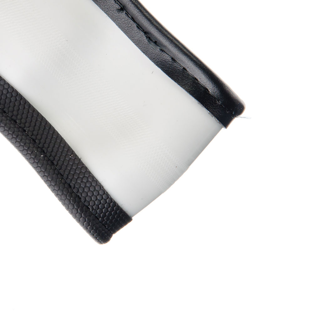 "NEW GALAXY Оплетка руля, спонж, со вставками ""крокодил"",серый, разм. (M)"