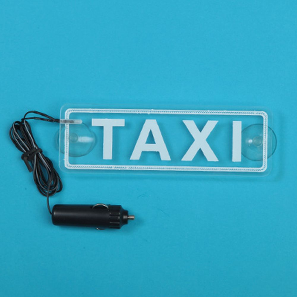 NEW GALAXY Знак Такси c LED подсветкой, на присосках 76996