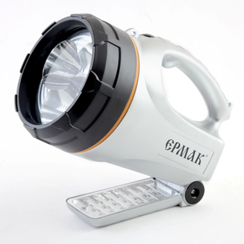ЕРМАК Фонарь аккумуляторный LED АСФ-С3-СЛ (6В, 2,5А/Ч) 12/220В