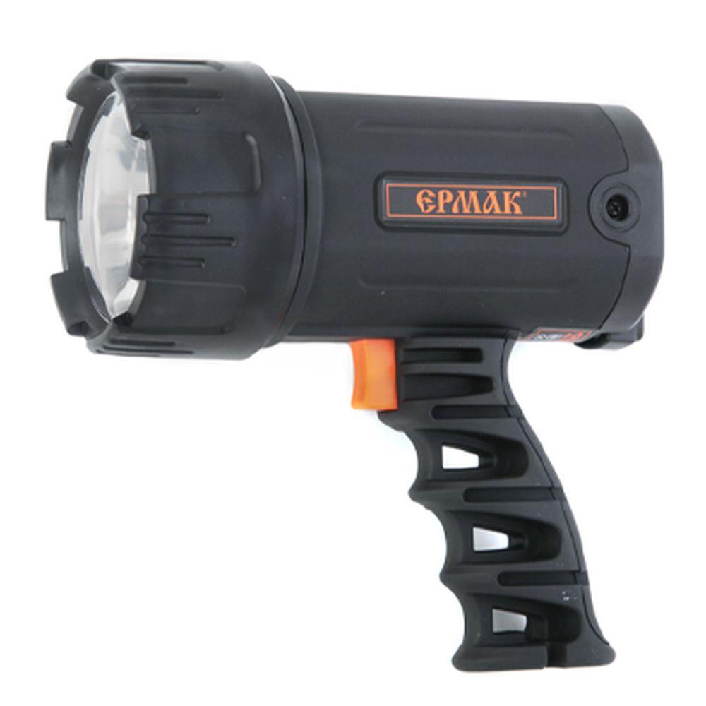 ЕРМАК Фонарь аккумуляторный LED АСФ-С101НД (3,6В 1,2А/Ч Ni-Mh) 220В, с динамоподзарядкой
