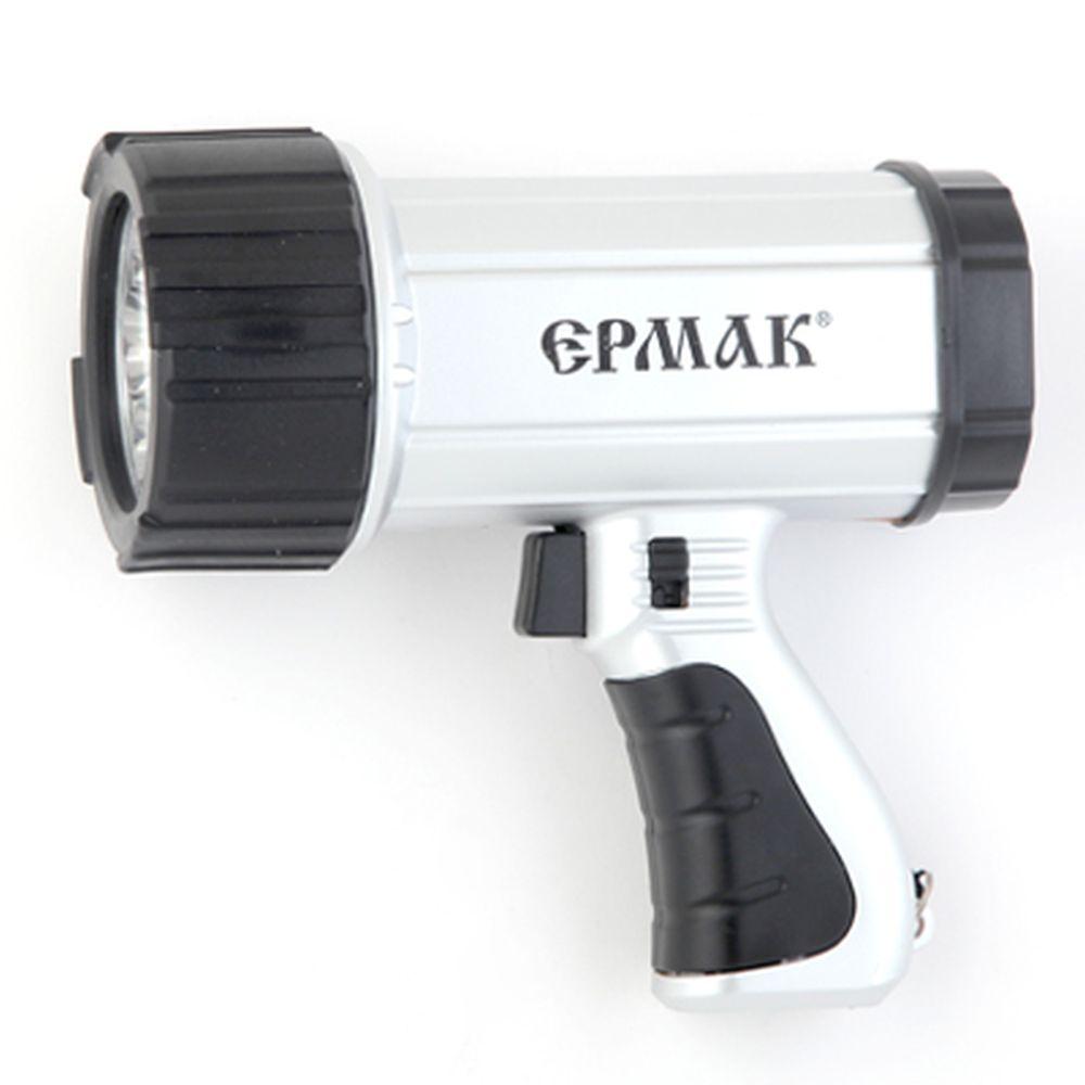 ЕРМАК Фонарь аккумуляторный LED АСФ-С7Н (3,6В, 0,6А/Ч Ni-Mh), 220В