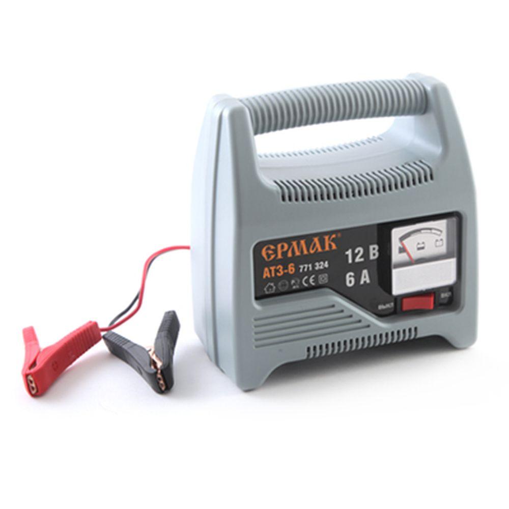 ЕРМАК Зарядное устройство трансформаторное автомат АТЗ-6 (max 6A/12V)