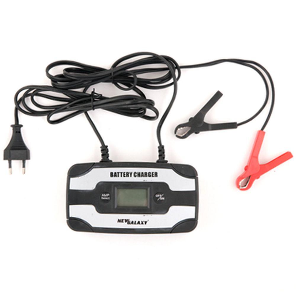 NEW GALAXY Зарядное устройство импульсное автомат АИЗ-2-6 (max 6A/12V, 6A/6V), LCD индикатор
