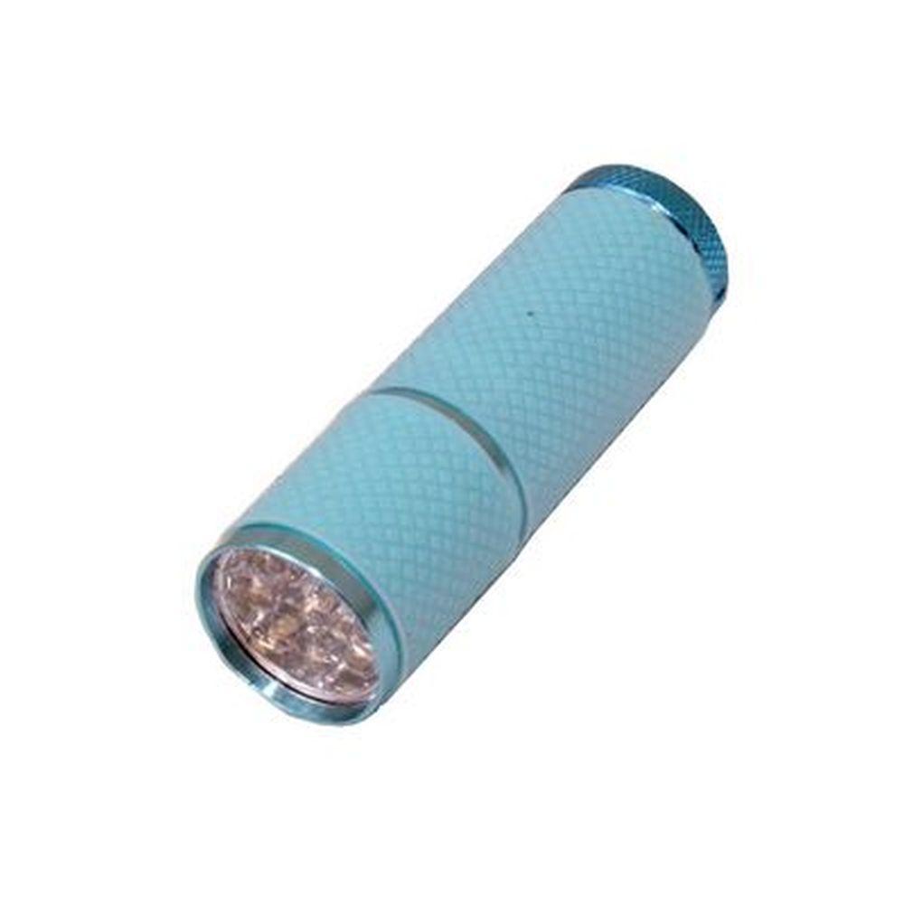 Фонарик металл со светодиодами 259-9