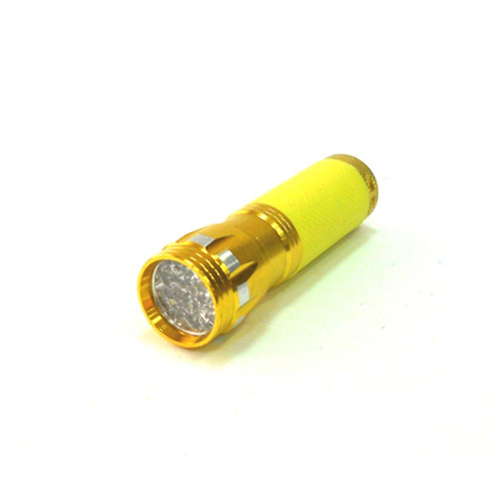 Фонарик металл со светодиодами 269-12