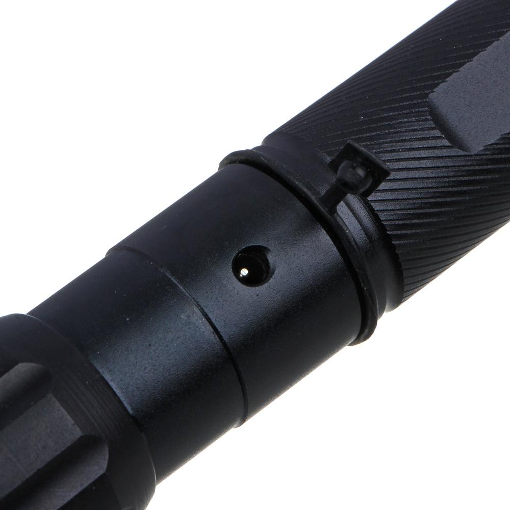 ЧИНГИСХАН Фонарь металлический XP-E LED, 3xAAA, алюминий, 15,5x3 см
