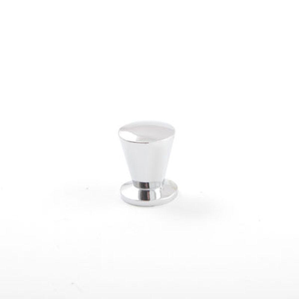 Ручка-кнопка 2881-M CP хром