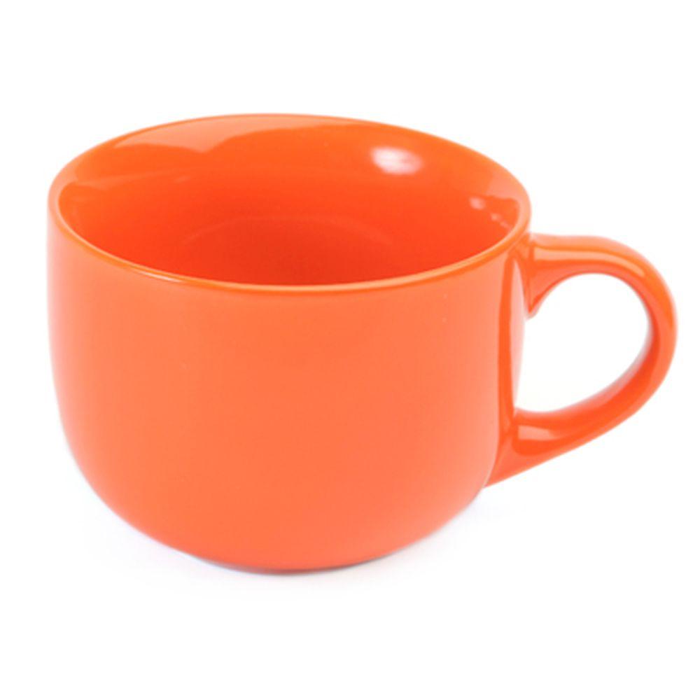 VETTA Атон Бульонница оранжевая керамика 500мл