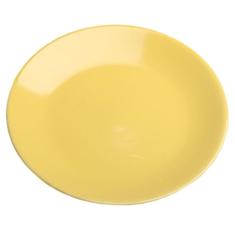 VETTA Анубис Тарелка десертная желтая керамика 20см