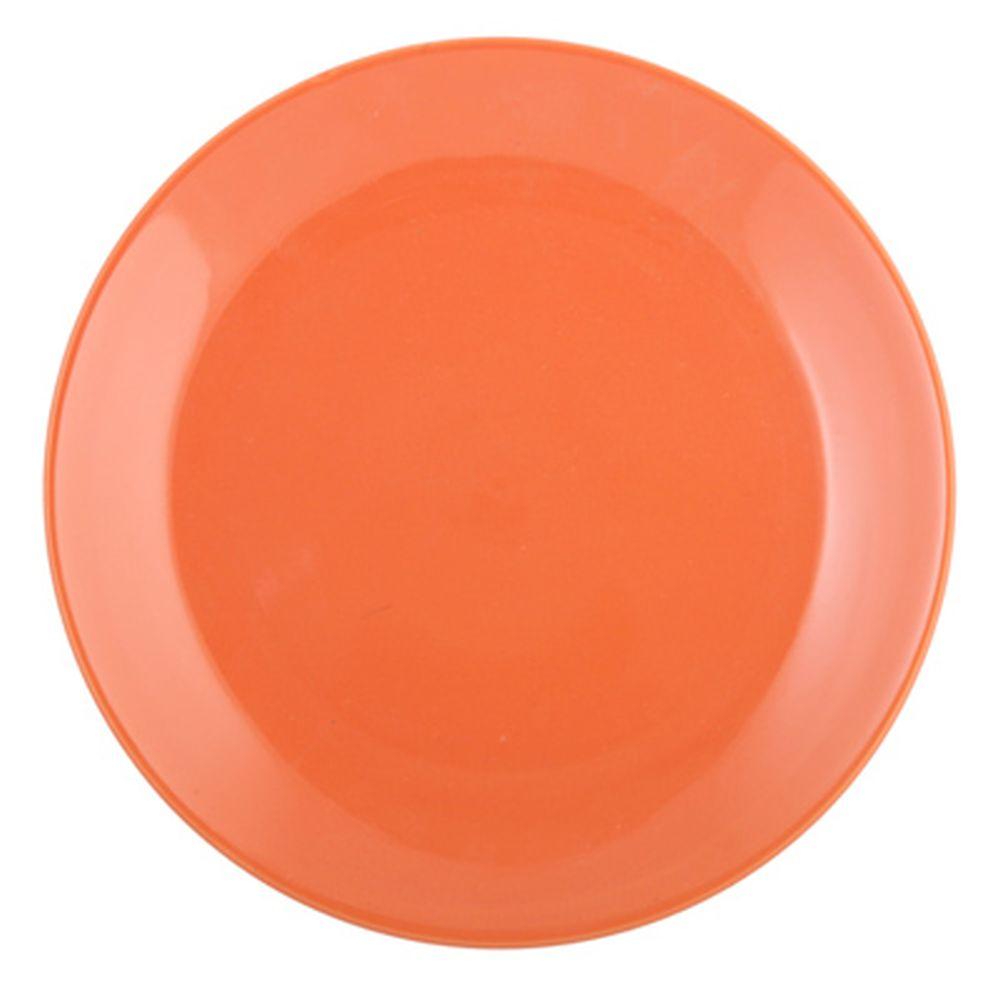 VETTA Атон Тарелка подстановочная оранжевая керамика 27см