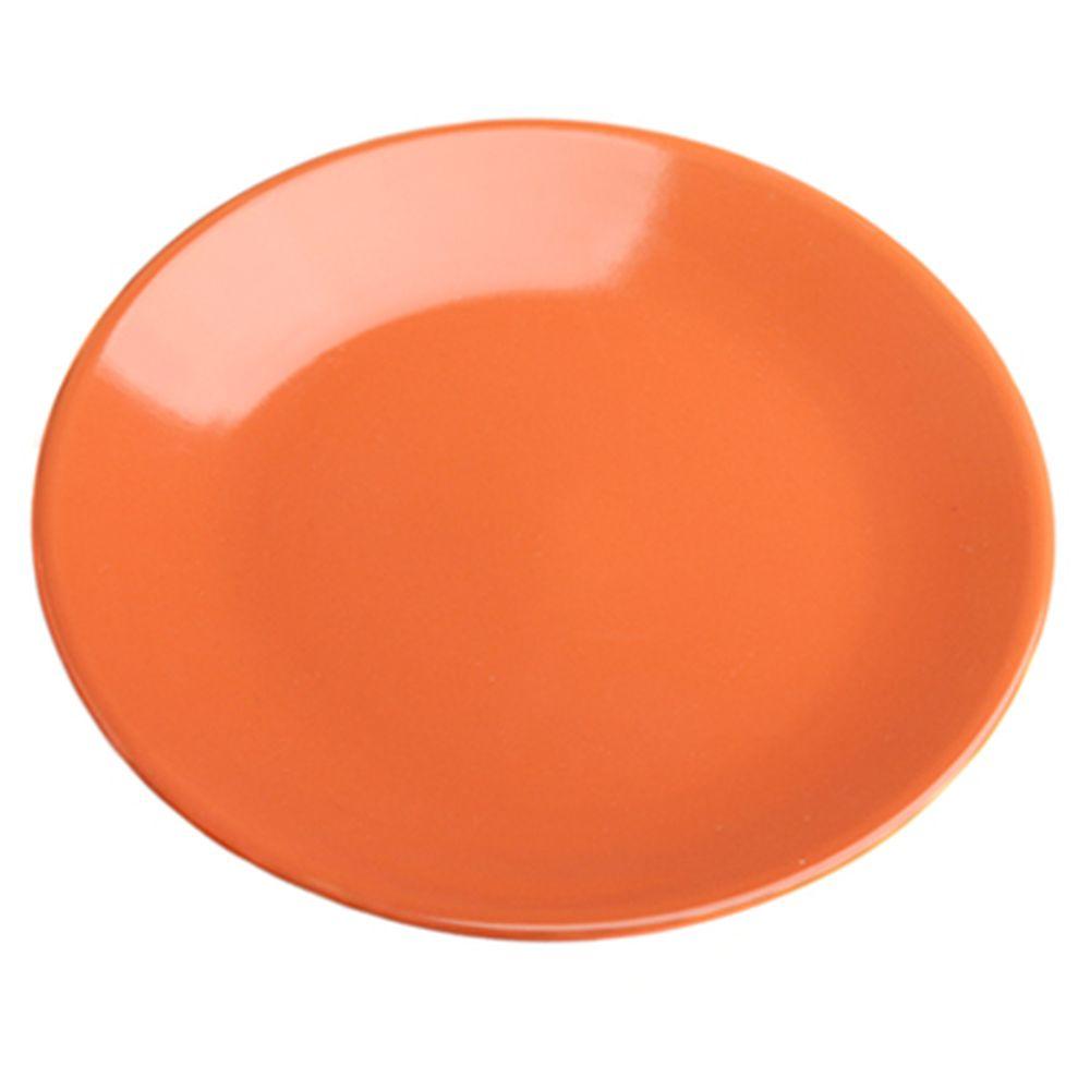 VETTA Атон Тарелка десертная оранжевая керамика 20см