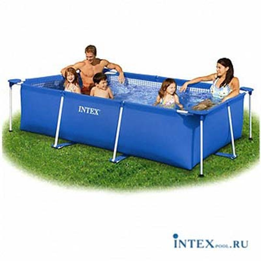 INTEX Бассейн каркасный, 298*219*84 см, 58982