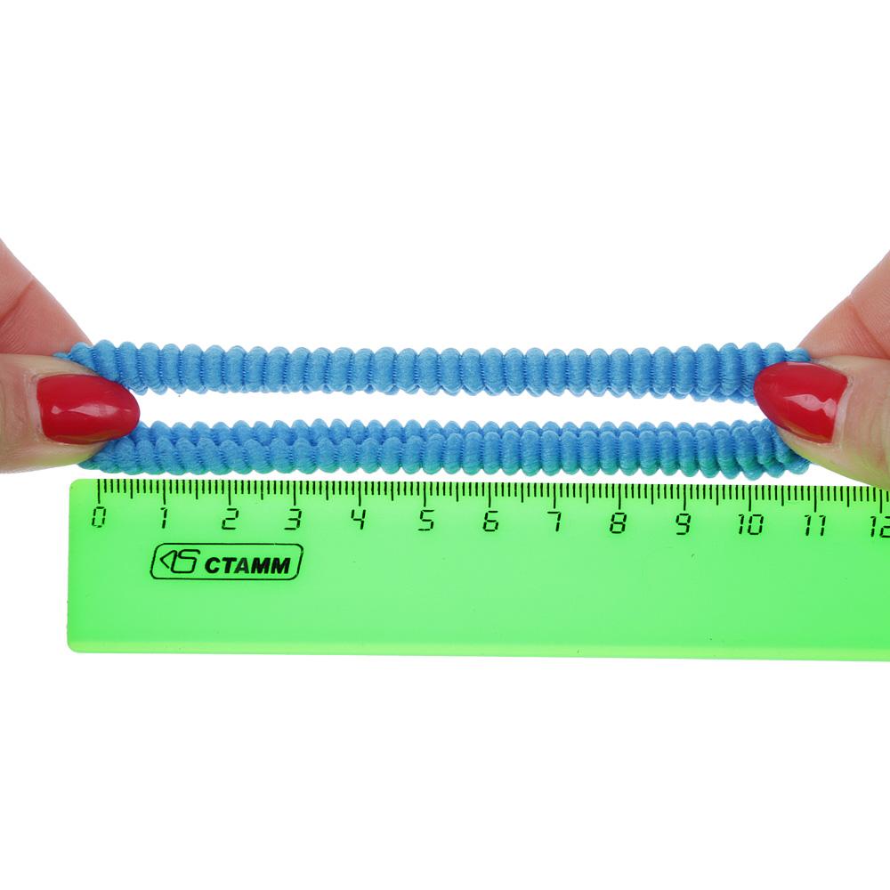 Набор резинок для волос 36шт., 5 см, полиэстер, 12 цветов