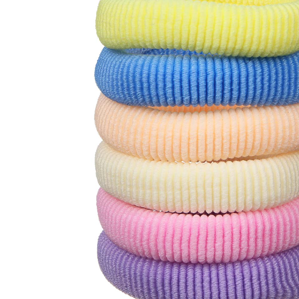 Резинки для волос BERIOTTI, 12 шт, d.5 см, разноцветные
