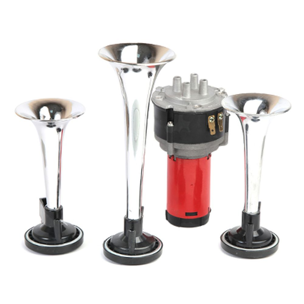 NEW GALAXY Сигнал звуковой пневмо-электрический 3-х рожковый HO102C,12В