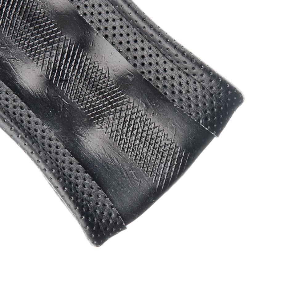 NEW GALAXY Оплетка руля, натуральная перфорированная кожа, черный, разм. (М)
