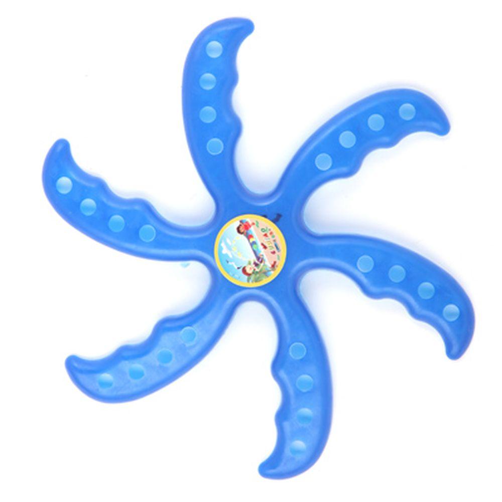 Бумеранг в виде звезды, d22см, пластик