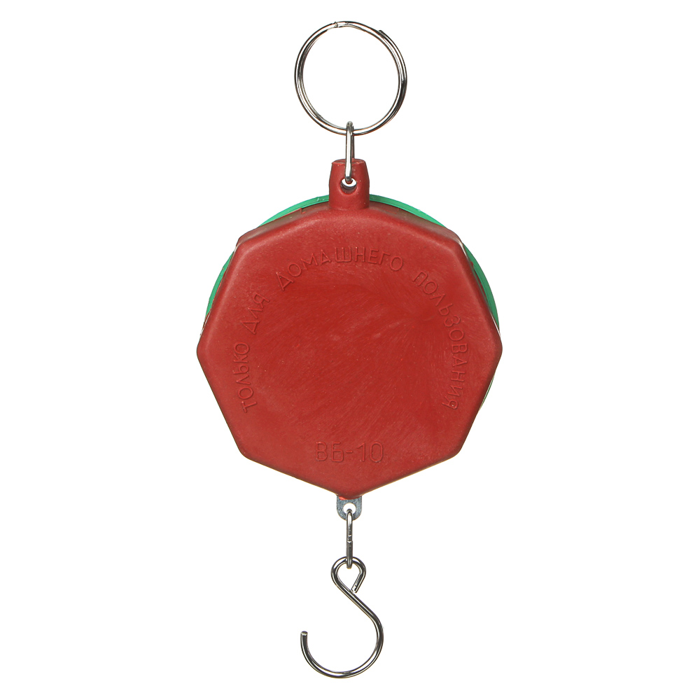 VETTA Безмен круглый, нагрузка до 10кг, пластик, 3 цвета,арт.СХ-149