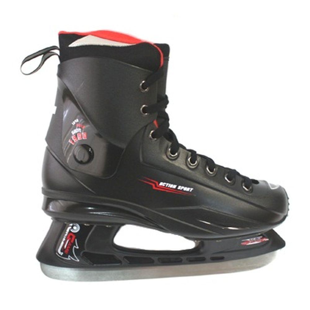 Коньки хоккейные PW-233 р.42