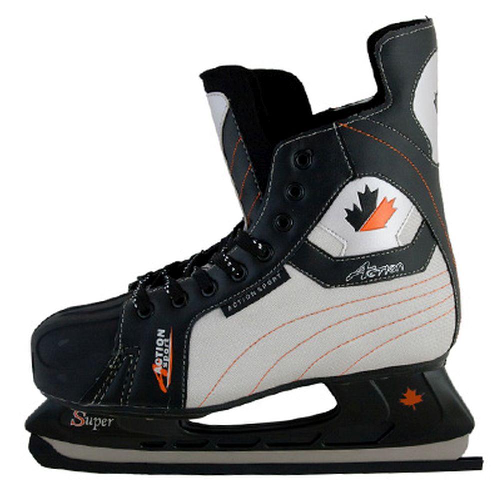 Коньки хоккейные PW-216P р.40