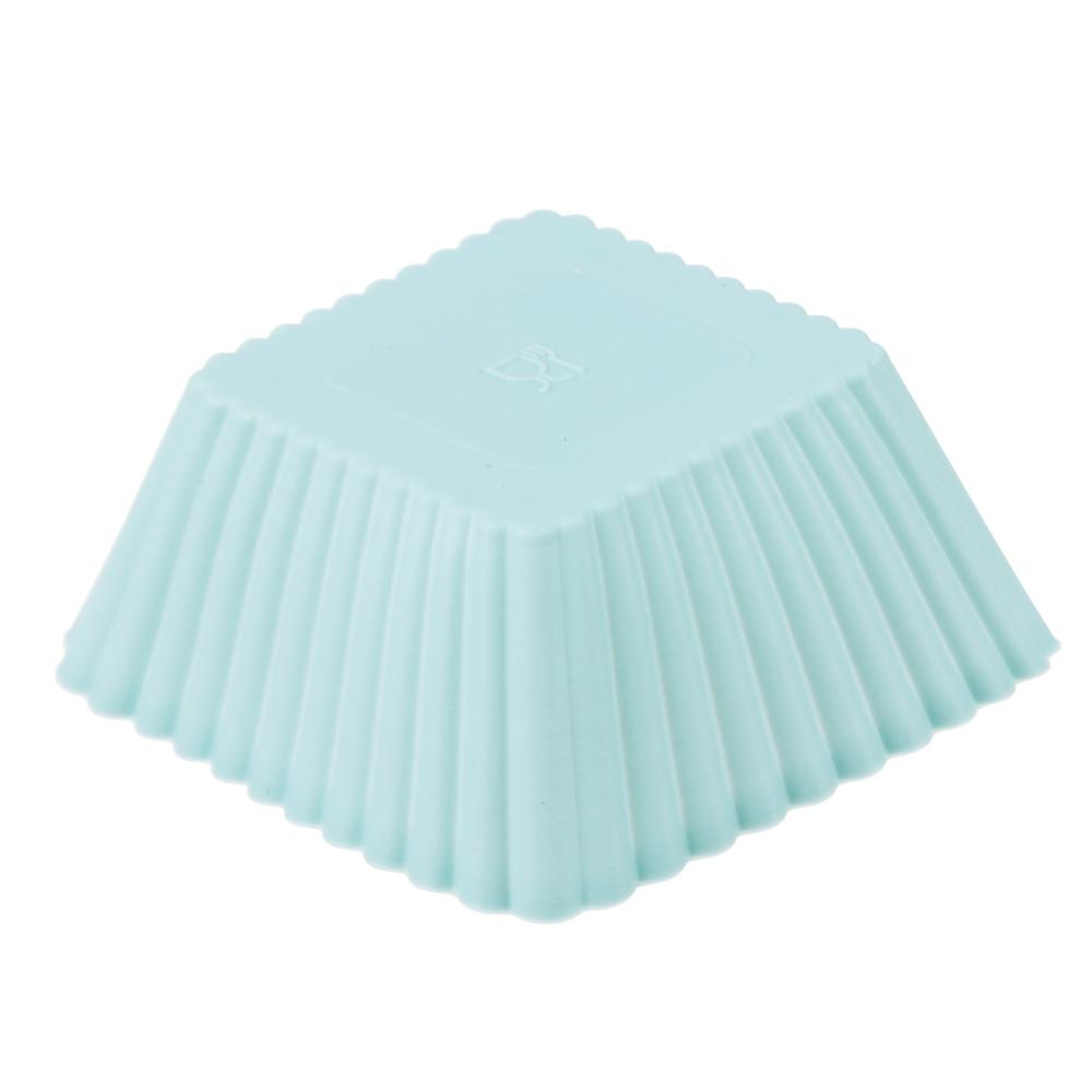 Набор форм для выпечки VETTA Кекс, 16 шт, 7х3 см, силикон