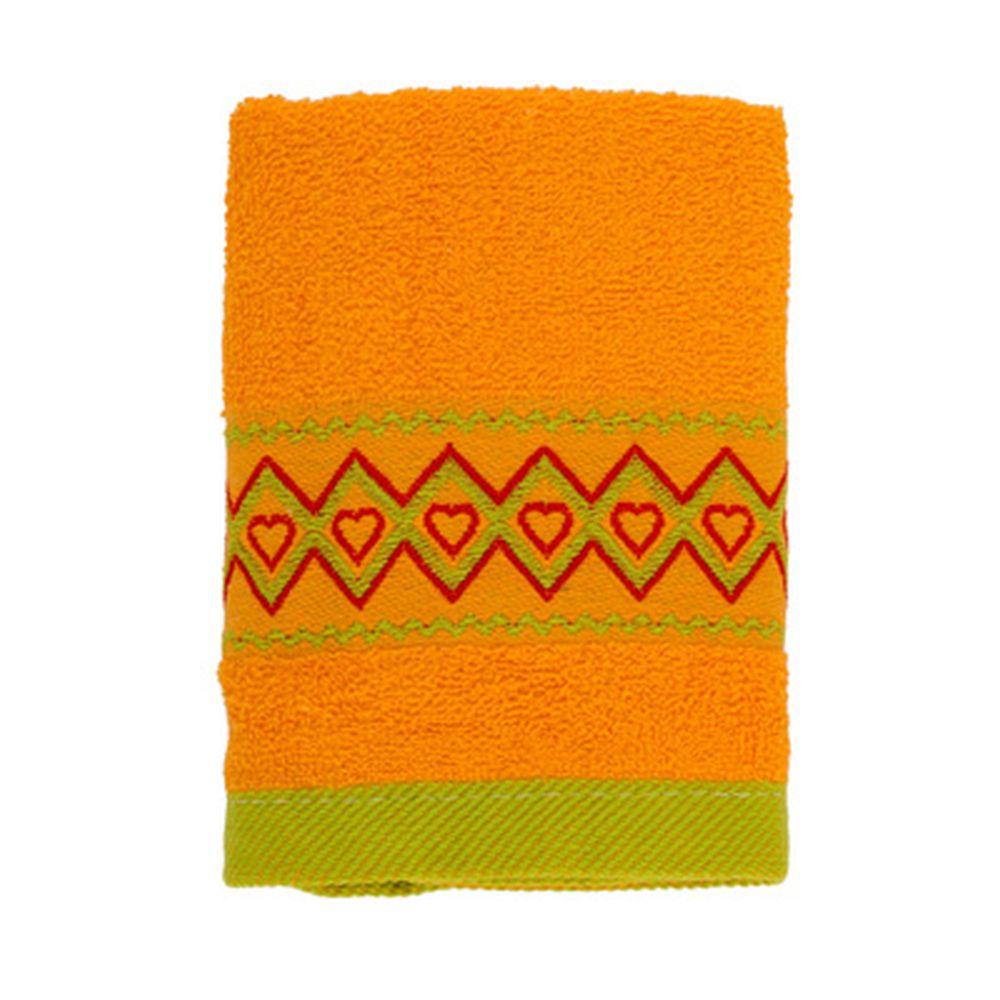 VETTA Полотенце махровое, 100% хлопок, 35x70см, Spain, жёлтое