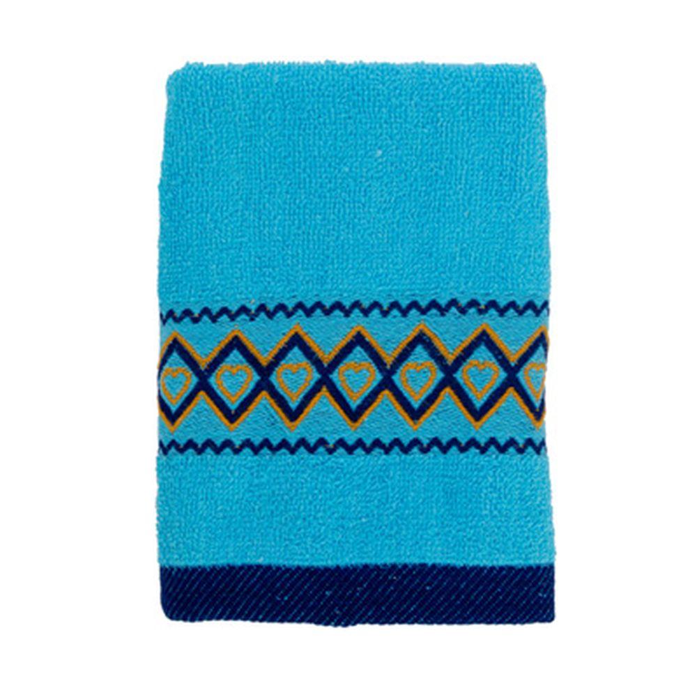 VETTA Полотенце махровое, 100% хлопок, 35x70см, Spain, голубое