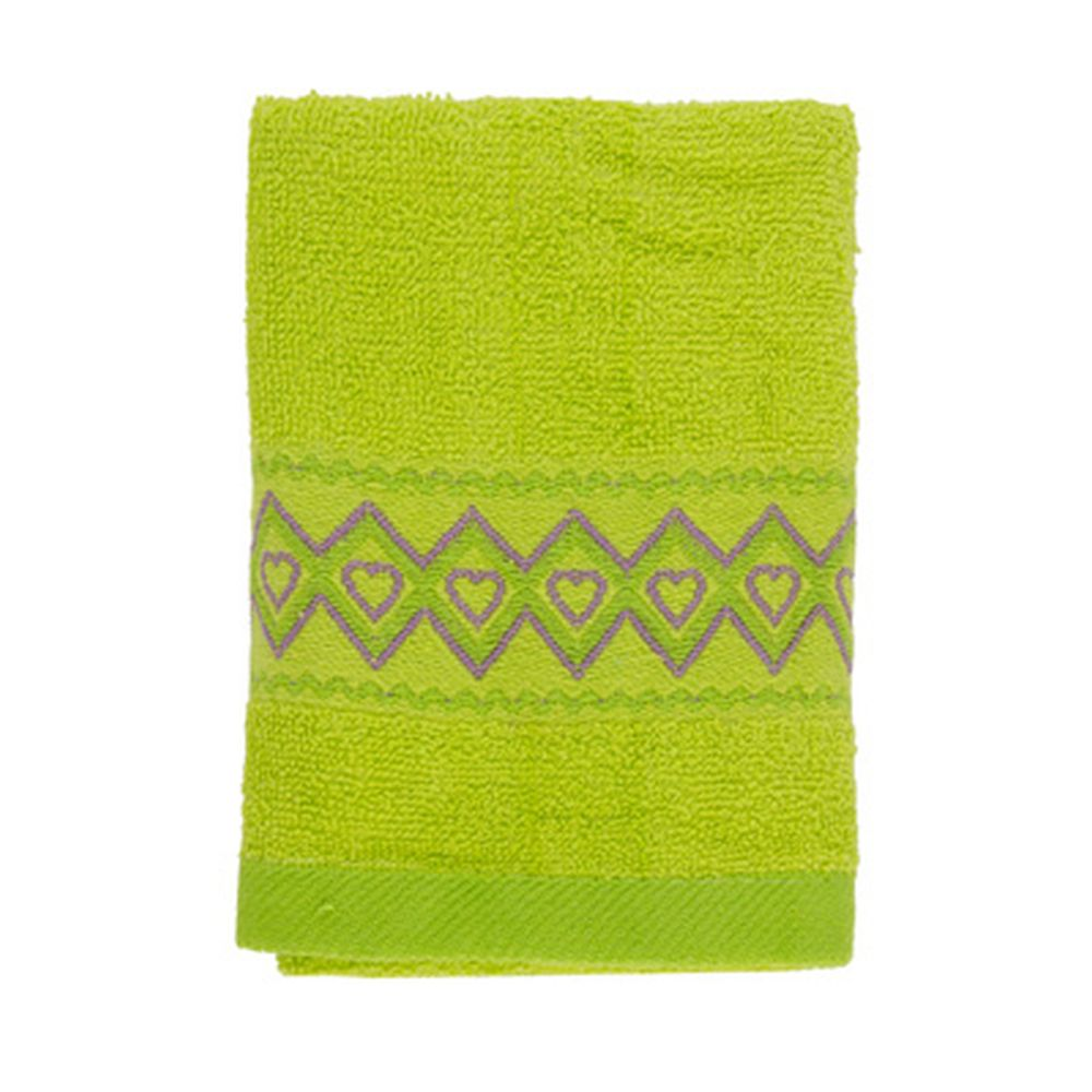 VETTA Полотенце махровое, 100% хлопок, 35x70см, Spain, зелёное