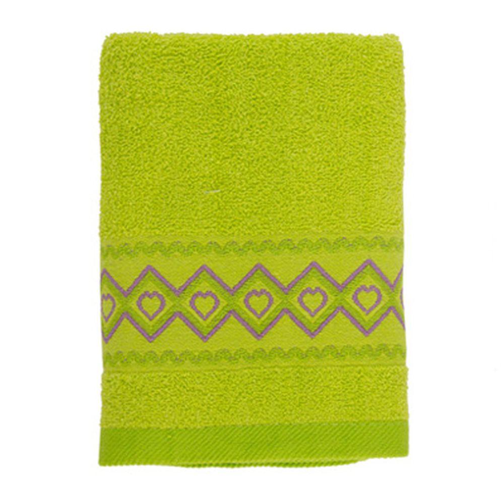 VETTA Полотенце махровое, 100% хлопок, 50x90см, Spain зелёное