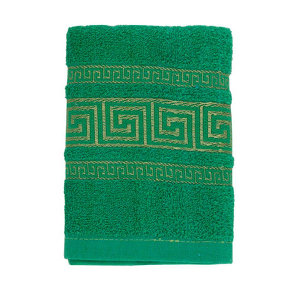 VETTA Полотенце махровое, 100% хлопок, 35x70см, Greece, зелёное