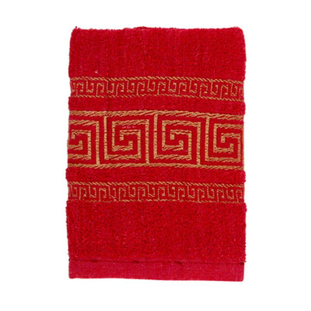 VETTA Полотенце махровое, 100% хлопок, 35x70см, Greece, красное